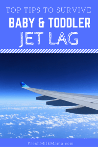 how to handle jet lag in kids
