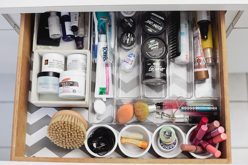 Spring Cleaning and Organize Your Vanity - Tips from Fresh Mommy Blog-1