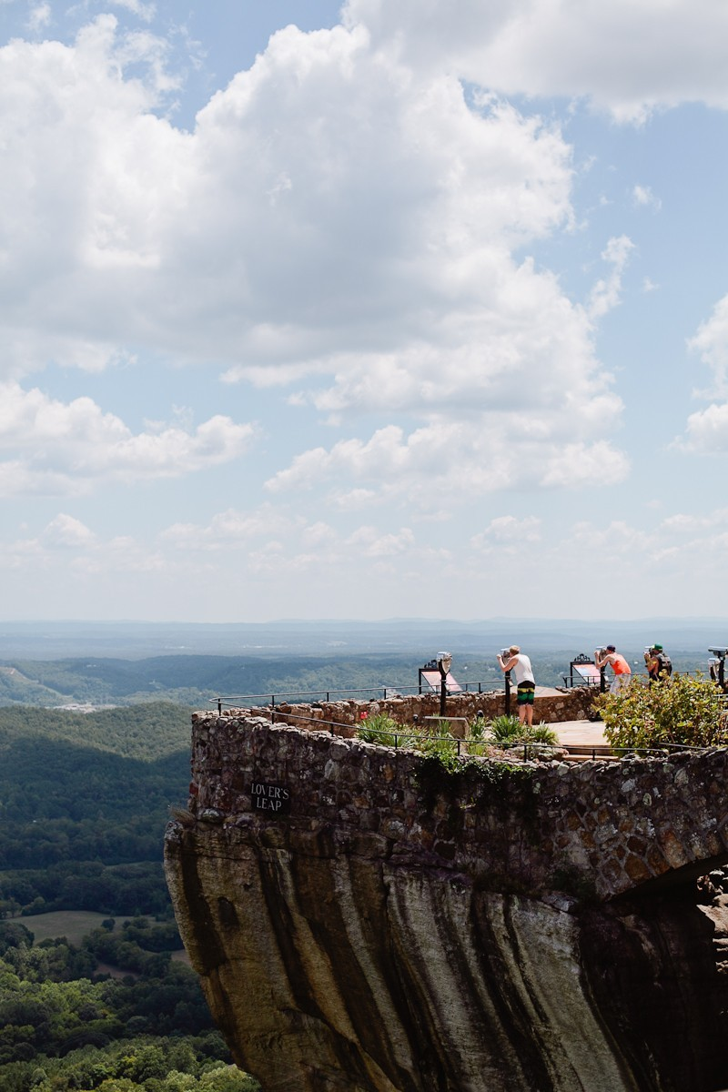 The best spots in Chattanooga, TN Lover's Leap at Rock City