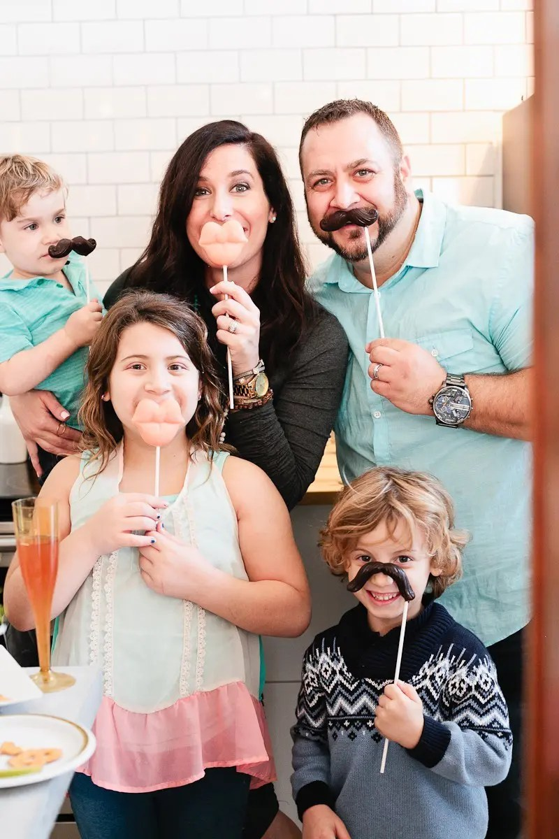 Baby Gender Reveal Party in Mint and Pink at Fresh Collective Studios, by Tabitha Blue of Fresh Mommy Blog-4