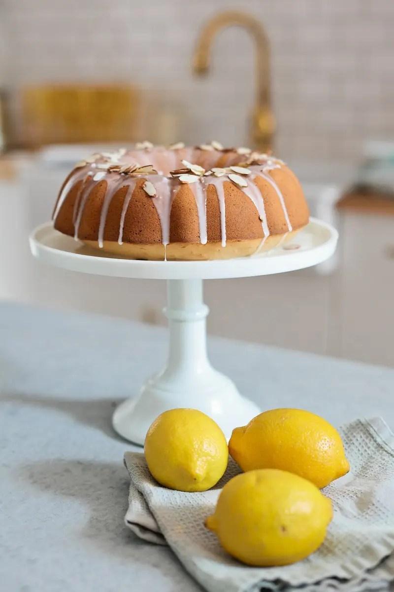 Almond Lemon Pound Cake with Silk Almond Milk from Fresh Mommy Blog-13 - Almond Lemon Pound Cake Recipe by popular Florida lifestyle blogger Fresh Mommy Blog