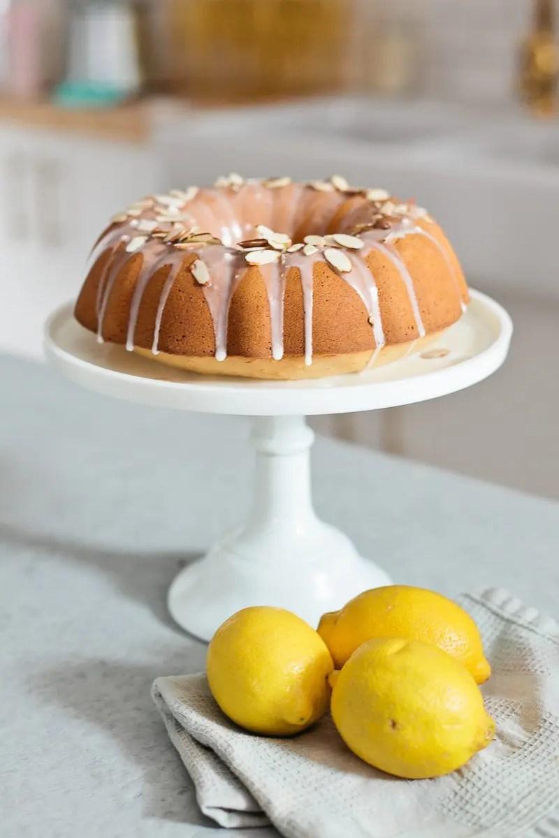 Almond Lemon Pound Cake with Silk Almond Milk from Fresh Mommy Blog-14 - Almond Lemon Pound Cake Recipe by popular Florida lifestyle blogger Fresh Mommy Blog