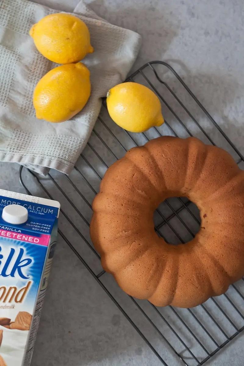 Almond Lemon Pound Cake with Silk Almond Milk from Fresh Mommy Blog-4