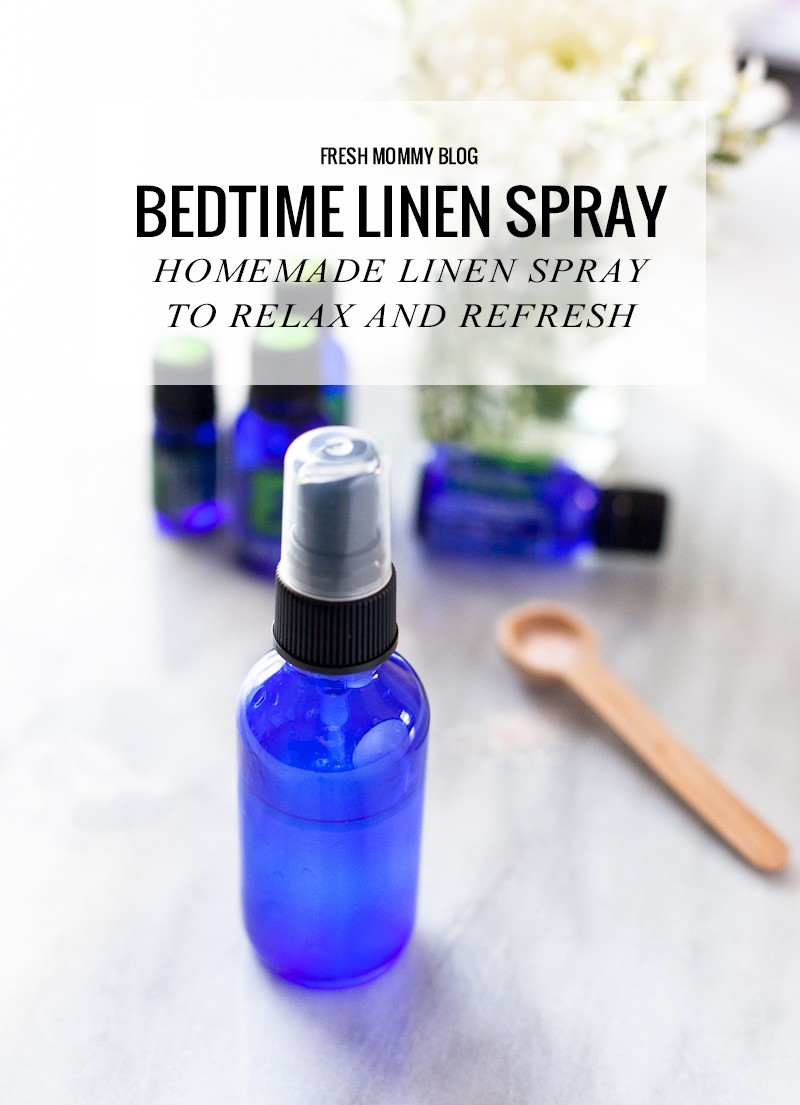 A good night's sleep is the starting point for resisting germs and viruses, easing stress, and losing weight. Why wouldn't we want a Bedtime Linen Spray to help us get the rest we need?  Homemade Linen Spray to Relax and Refresh with Essential Oils - Made with Wild Orange Essential Oil or Bergamot Essential Oil Lavender Essential Oil Cedarwood Essential Oil Roman Chamomile Essential Oil
