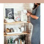 The Perfect Coffee Station With A Diy Coffee Bar Cart Fresh Mommy Blog
