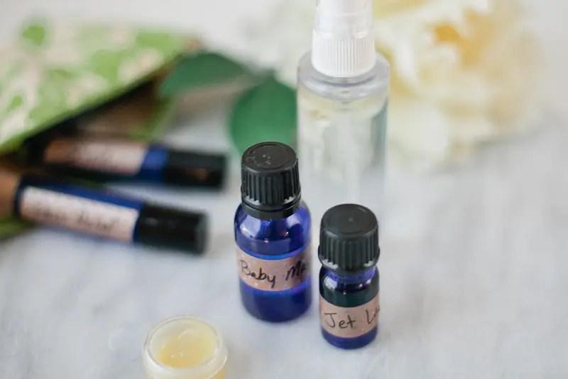Essential Oil Recipes for Postpartum Care