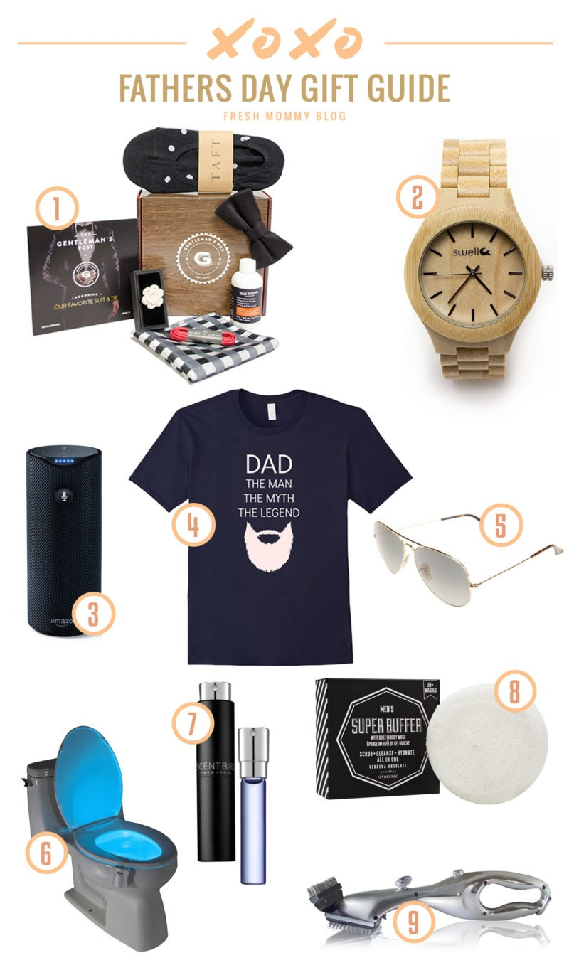 A Man-Picked Father's Day Gift Guide