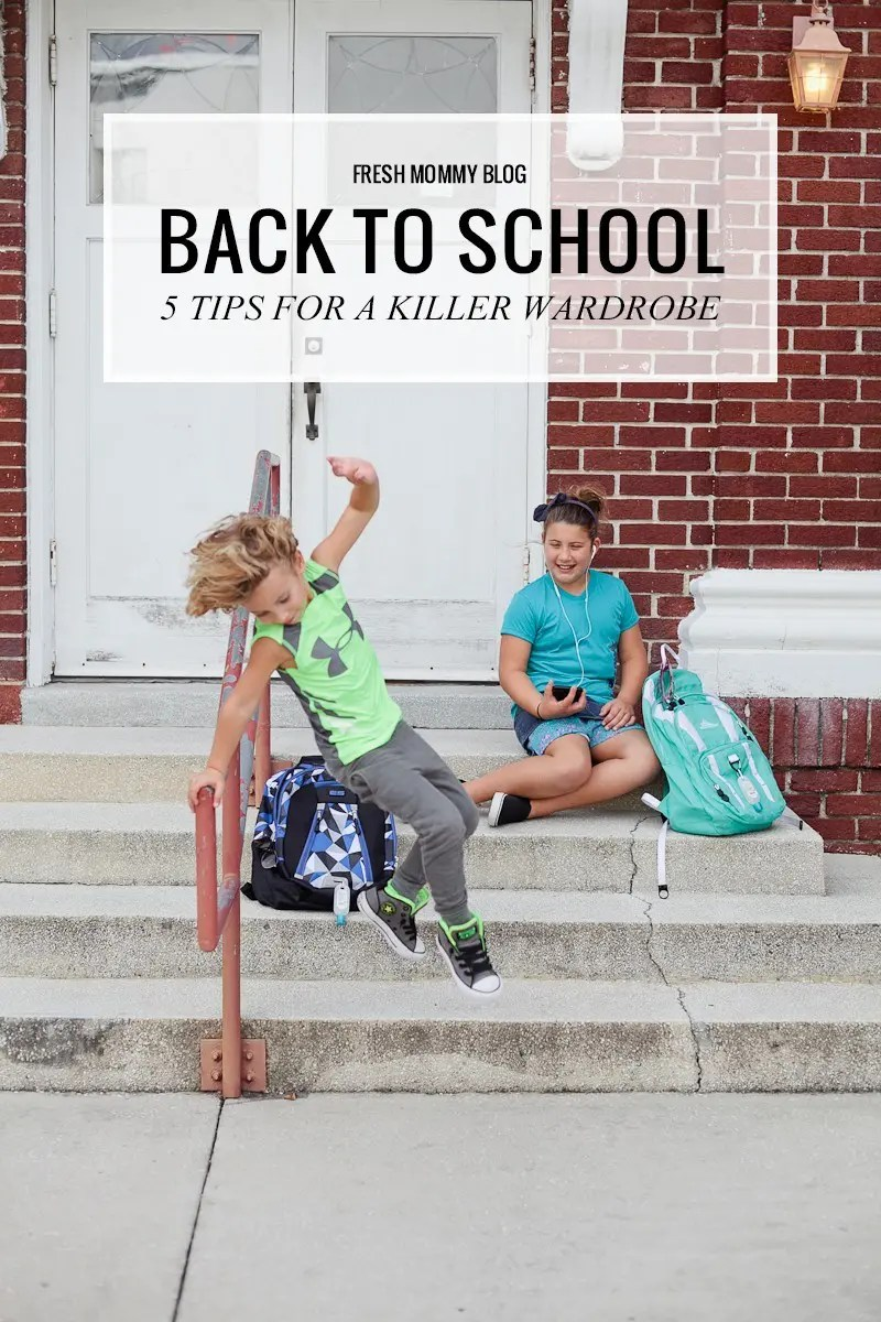 Back to School Shopping- 5 Tips to a Killer Wardrobe