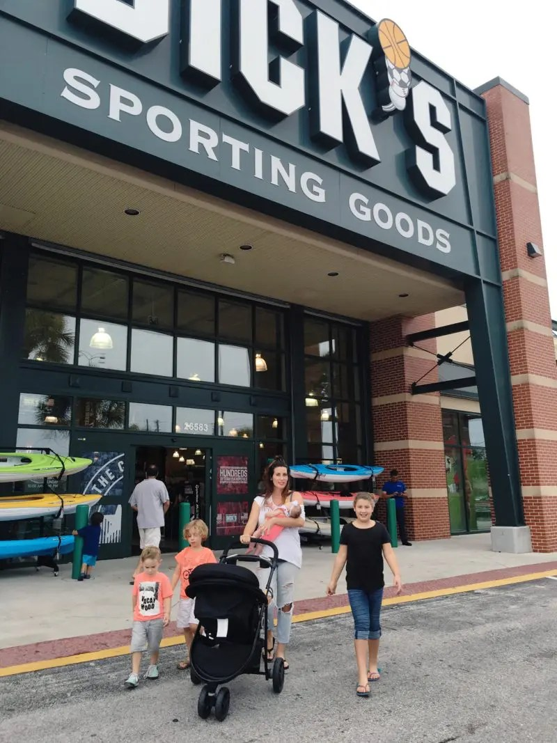 BACK TO SCHOOL SHOPPING WITH DICKS SPORTING GOODS