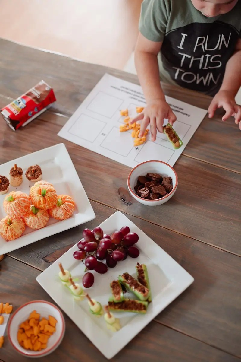 Not-So-Spooky Snacks and a FREE Math Printable for a Healthier Halloween from Tabitha Blue of Fresh Mommy Blog and Horizon Organic