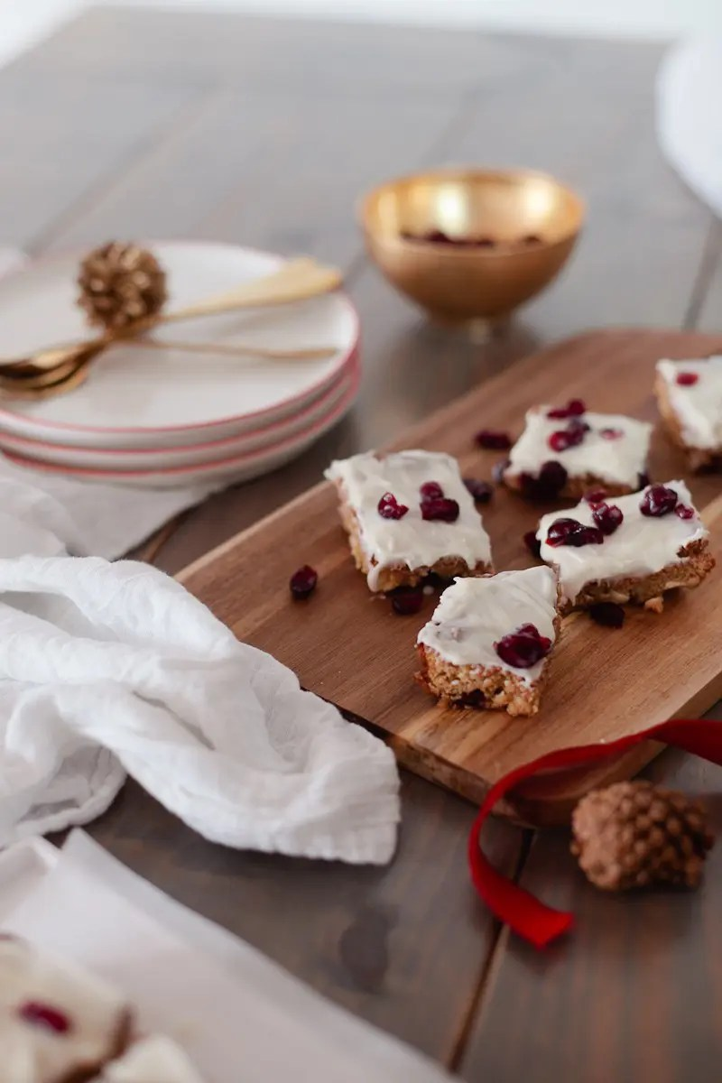 If you're looking for a quick, fun and festive dessert to add to any home or party menu these Cranberry Bliss Blondies are a must for your go-to repertoire!