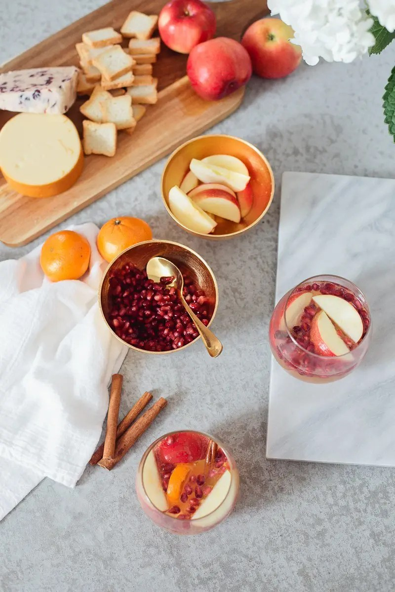 Tangerine Apple Cider recipe that's perfect for any occasion, especially the holidays! Make it a cocktail or make it a mocktail, both are equally delicious!-16