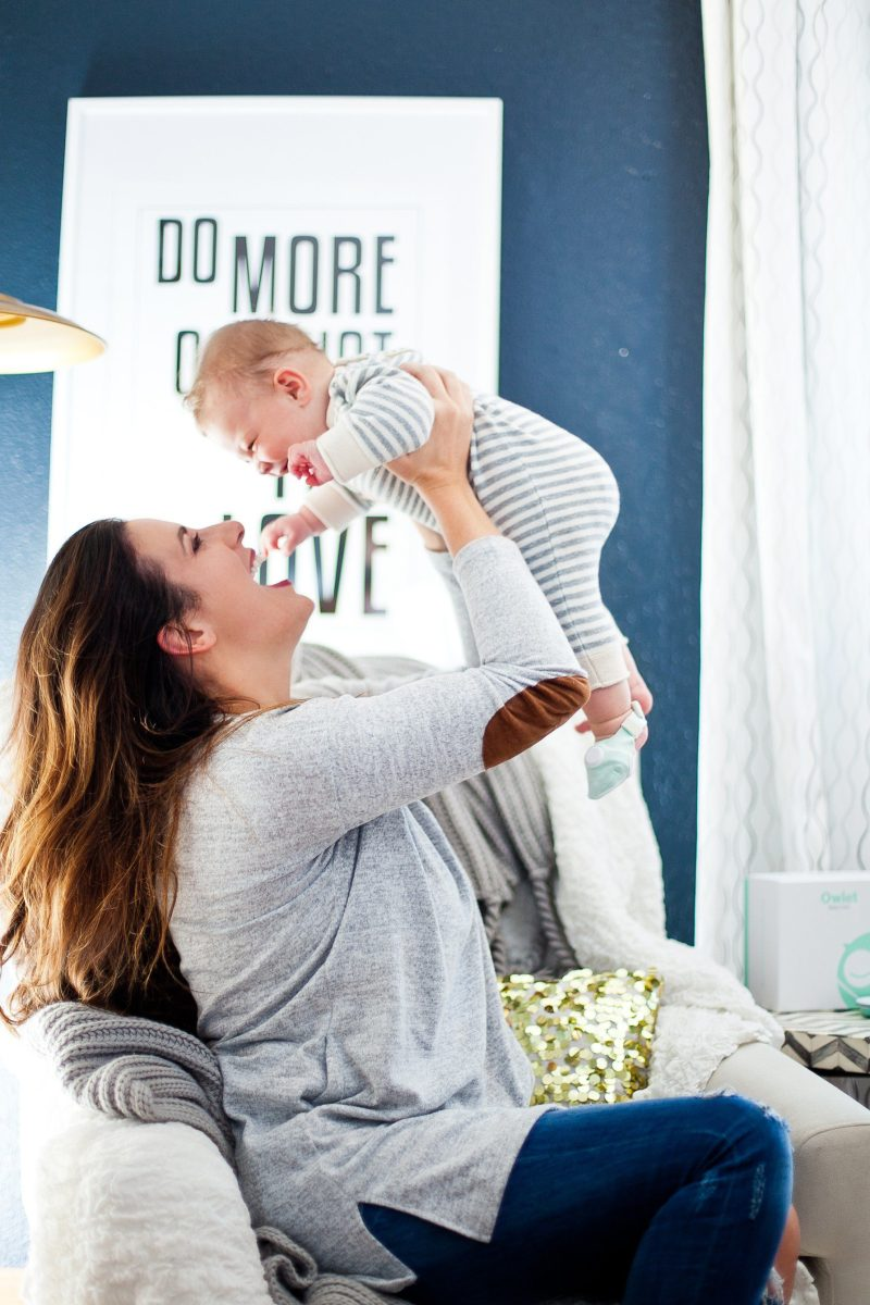 Gift Guide for the new mom and our Fresh Mommy Blog recommendation of Owlet Monitor!