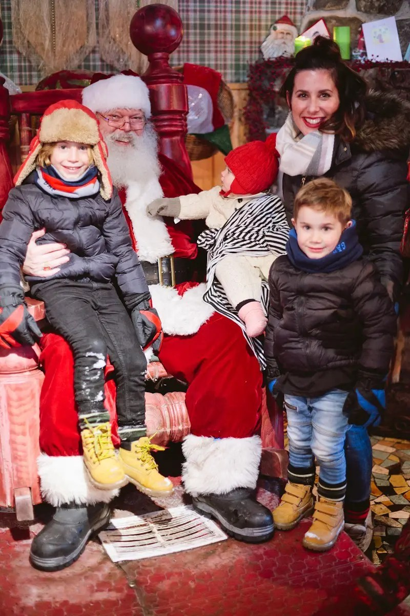 A Blue Winter Tour to Montreal and the snowy mountains and Village du Père Noël! Find family travel tips on freshmommyblog.com