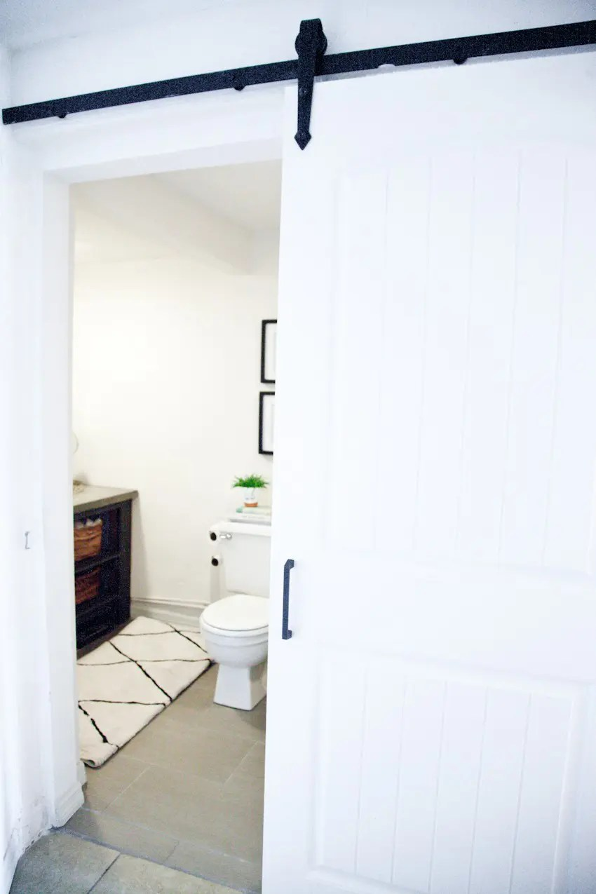 Epic Taking it Our light and bright simple studio bathroom remodel A Before and After