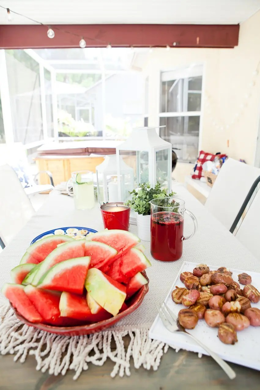 the makings of a boss backyard party fresh mommy blog fresh