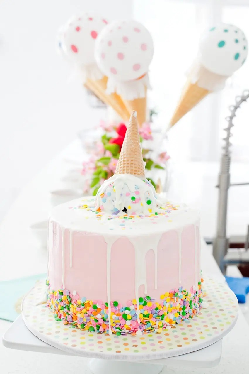 A Sweet Ice Cream Social Birthday Party Fresh Mommy Blog