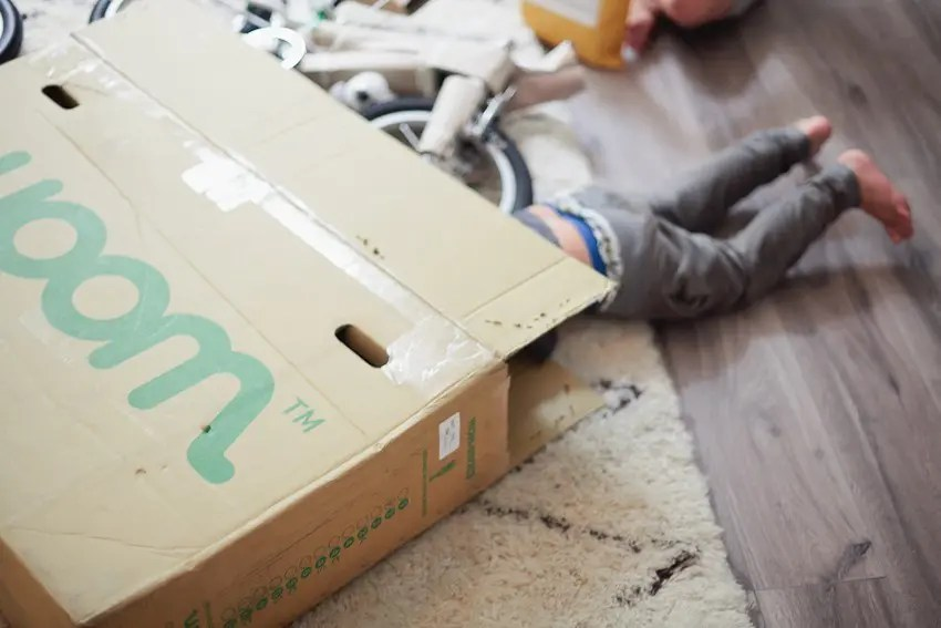 A kids bike that grows as they do! Starts as a balance bike and add pedals once they learn balance! Woom Bike Unboxing with Tabitha Blue of Fresh Mommy Blog.