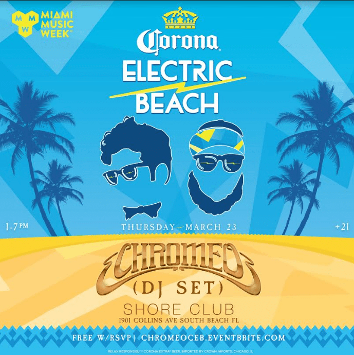 Chromeo Electric Beach