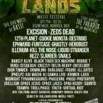 Image of excision lost lands music festival line up