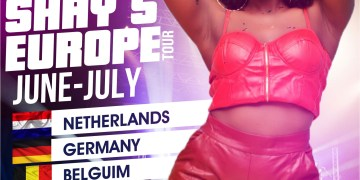 Wendy Shay European Tour 2019