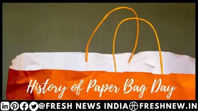 History of world Paper Bag Day