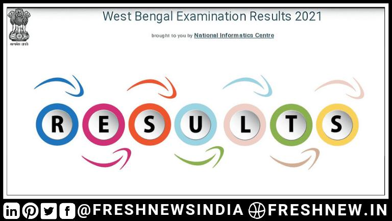 WB Madhyamik Result 2021 direct link in hindi