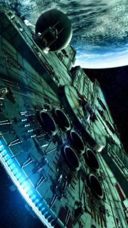 Star Wars Spaceship Science Fiction Android Wallpaper