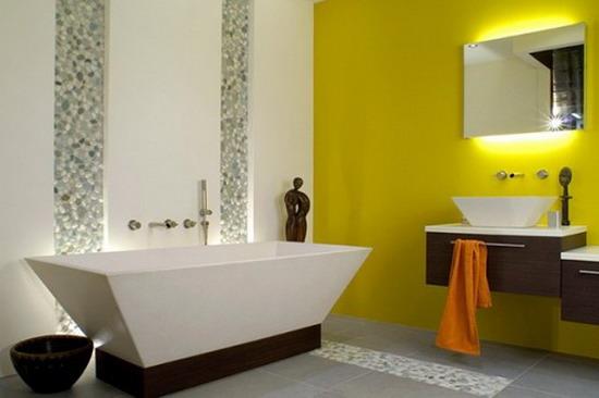 25 Cool Yellow Bathroom Design Ideas