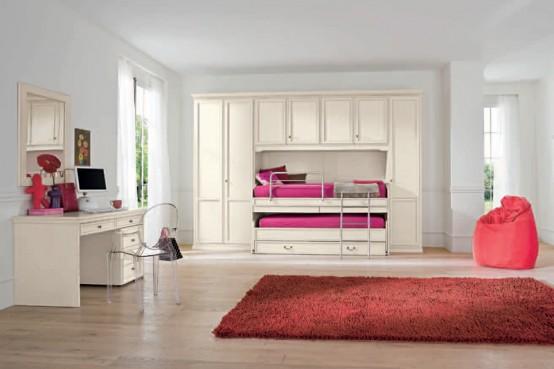 90 Cool Teenage Girls Bedroom Ideas   Freshnist on Teenage Room Design Girl  id=18591