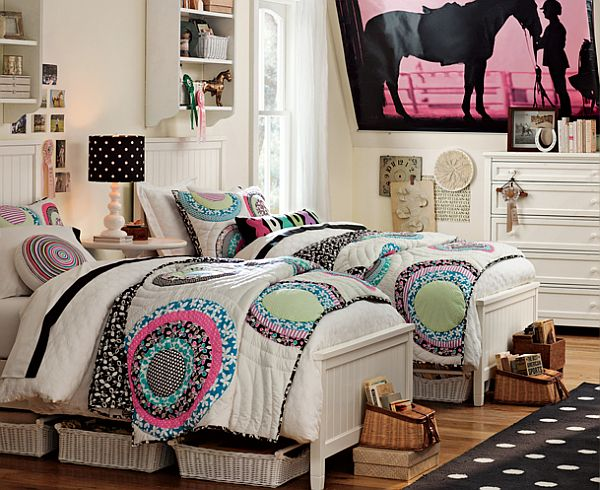 90 Cool Teenage Girls Bedroom Ideas | Freshnist on Teen Rooms Girl  id=78141