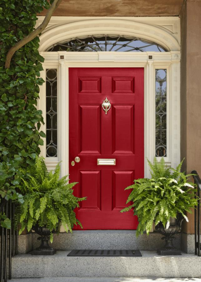 52 Beautiful Front Door Decorations and Designs Ideas ... on Door Color Ideas  id=41295