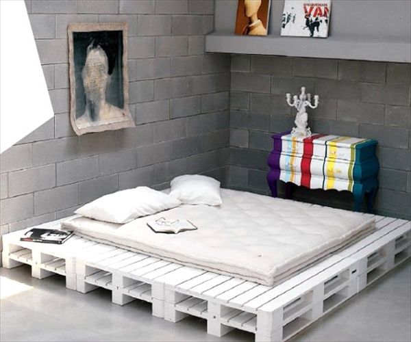 22 Ideas About Pallet Furniture - Useful out of waste ... on Pallet Bedroom  id=36725