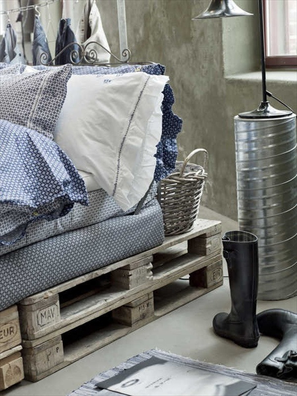 22 Ideas About Pallet Furniture - Useful out of waste ... on Pallet Bed Room  id=82799