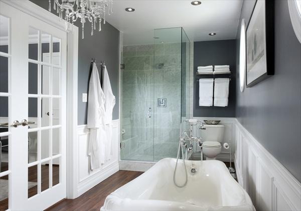 red black and grey bathroom ideas