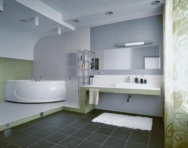 light blue and grey bathroom ideas