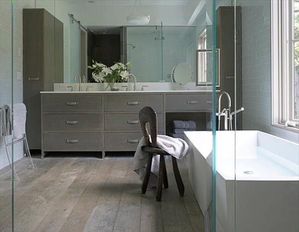rustic grey bathroom ideas
