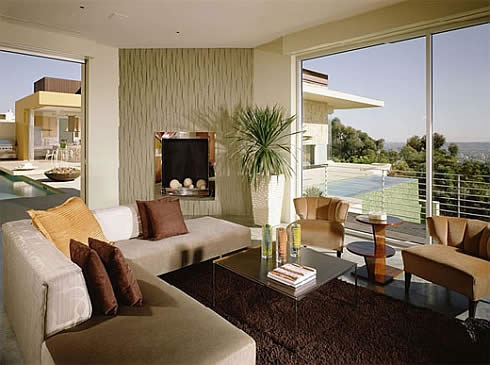 contemporary california hacienda 2 Contemporary California Hacienda by Brett Barrett