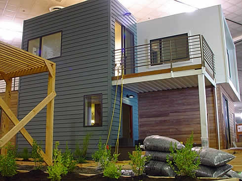 sg blocks container house 3 SG Blocks Container House   Made of Shipping Containers