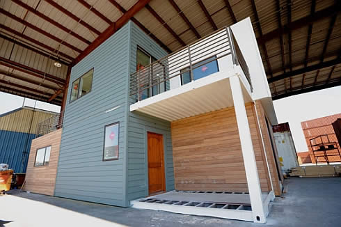 sg blocks container house 4 SG Blocks Container House   Made of Shipping Containers