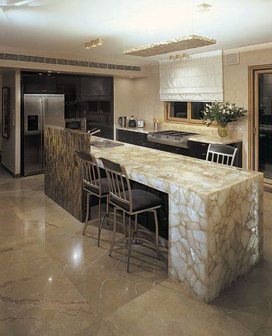 royzman20kitchen2 Luxury Gemstones in Home Interiors