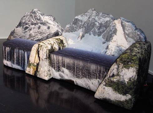 mountain couch4 montanara couch by gaetano pesce