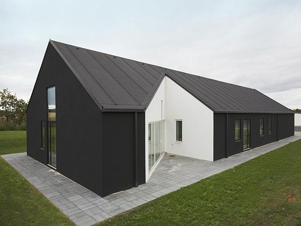 sinus house in denmark by cebra architects 2 Sinus House in Denmark by Cebra Architects