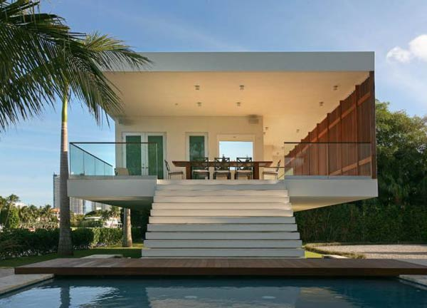 villa okto0 Wonderful Otko Villa on a Private Island in Miami Beach, Florida for Sale