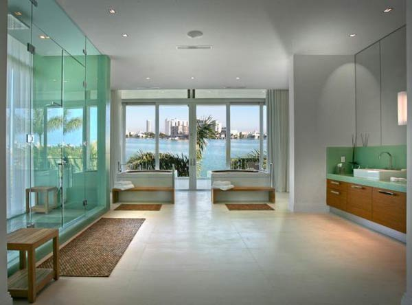 villa okto14 Wonderful Otko Villa on a Private Island in Miami Beach, Florida for Sale