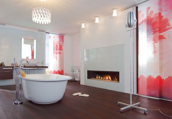 modern fireplace Modern Gas Fireplaces Ideas from Attika Feuer