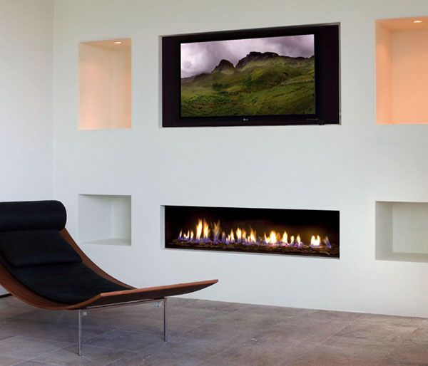 modern fireplace6 Modern Gas Fireplaces Ideas from Attika Feuer