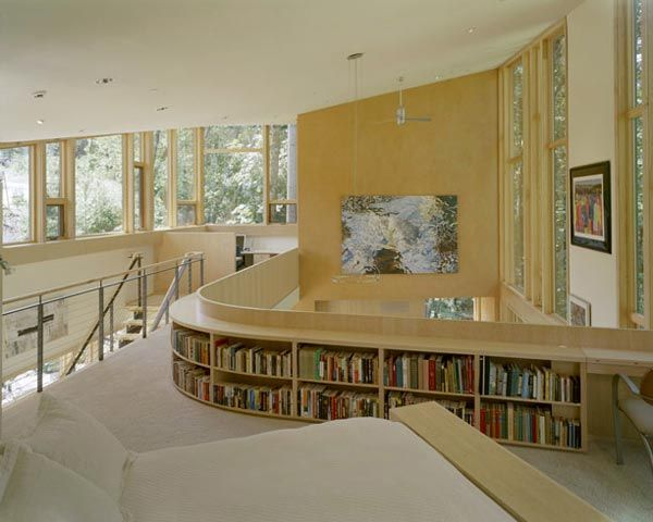 kitchel house 3 Beautiful House Surrounded by Forest and Lush Landscape