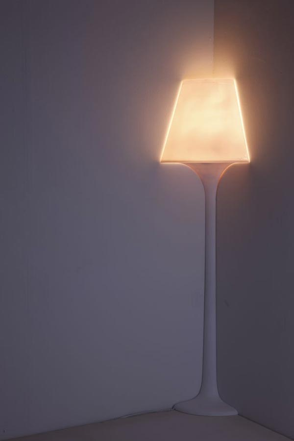 stand lights2 Corner Lamp by Korean Designer Ji Young Shon