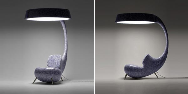 light up Light Up Furniture : Inspired by a Sea Creature